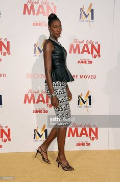 Lisa Leslie arrives for the premiere of 'Think Like A Man Too' at TCL Chinese Theatre on June 9, 2014 in Hollywood, California.  (Photo by Mark Sullivan/Getty Images)