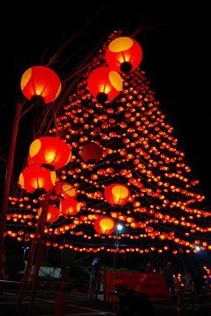 山口 七夕ちょうちん祭り Yamaguchi Tanabata lantern festival