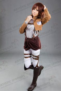 Attack on Titan Shingeki no Kyojin Scouting Legion Sasha Blouse cosplay costume - $128.00