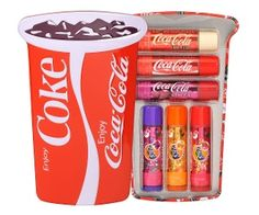 Lip Smacker Coca-Cola & Fanta 6Pc Collection Cup Tin