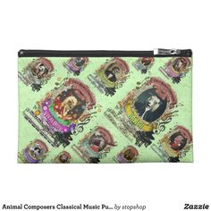 Animal Composers Classical Music Pun Fun Travel Accessory Bag