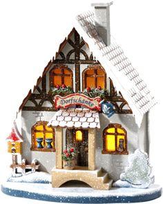 Käthe Wohlfahrt - Online Shop | Dorfschänke mit Beleuchtung | Rothenburg ob der Tauber