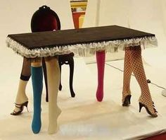 Most Funny table legs I ever seen - 33 never miss photos   Curious, Funny Photos / Pictures