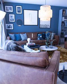 Rodeo couch in Scandinavian interior Norwegian House, Scandinavian Interior, Rodeo, Couch, Furniture, Design, Home Decor, Settee, Decoration Home