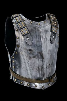 A back and breast plate, France, ca. 17th century.