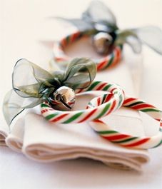 Candy Wreath Napkin Rings