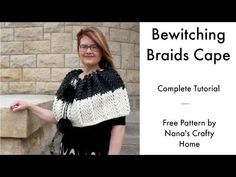 Free Crochet pattern for a really cute and sassy Autumn Ribbed Cowl with button accent including video tutorials using one cake Mandala Lion Brand Yarn. Crochet Cape Pattern, Free Pattern, Crochet Patterns, Crochet Hooks, Free Crochet, Cape Tutorial, Victorian Hats, Crochet Videos, Crochet Fashion