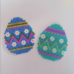 Easter eggs hama beads by summenafliv