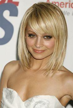 hairstyles for short/med length hair