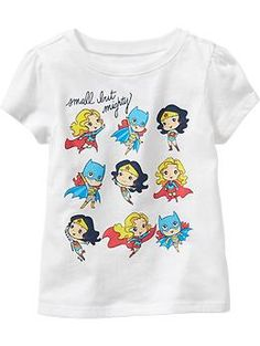 DC Comics™ Superheroes Tees for Baby