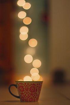 lumières de café
