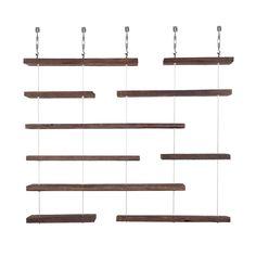 Dot & Bo – Furniture and Décor for the Modern Lifestyle Hanging Shelves, Wall Shelves, Modern Furniture, Furniture Design, Shop Counter, Media Storage, Dot And Bo, Fancy, Media Media