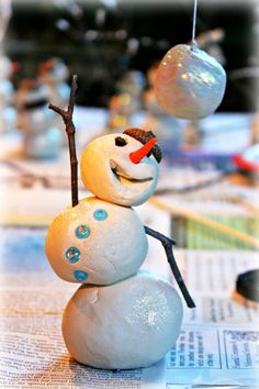 snowman Holiday Time, Family Holiday, Christmas And New Year, Christmas Time, Christmas Ideas, Decor Crafts, Diy Crafts, Diy Snowman, Winter Art