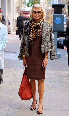 """When asked about her style influences, she replied, """" I learned from my Mama."""" Did your mother influence your style? What did you learn from mom? 