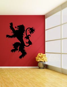 Game of Thrones Lannister Sigil Decal  Lannister by NewMetaMedia