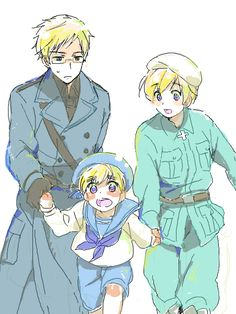 Sealand: Come on guys let's go!! I heard that there's ice cream over here!