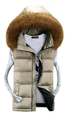 APTRO Men's Cotton-padded Faux Fur Hoodie Warm Vest Waistcoat Beige UK L( Tag 3XL ) APTRO http://www.amazon.co.uk/dp/B015F1QG6U/ref=cm_sw_r_pi_dp_BR7xwb1SZEB8S