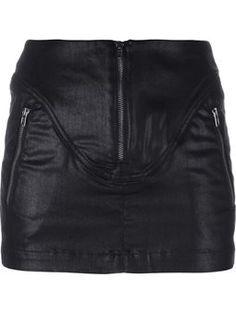 spódnica mini lakierów