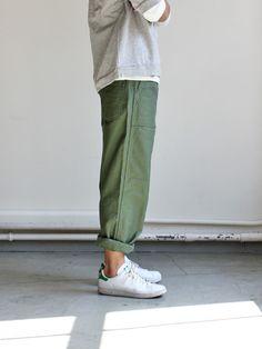 Olive supply pant, Adidas originals, crew fleece, classic look.