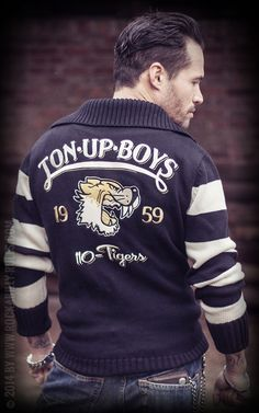 Racing Sweater - Ton Up Boys by Rumble59 | Rockabilly - 50s Style