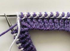 Latvialainen palmikko | Meillä kotona Fingerless Gloves, Arm Warmers, Crochet, Tricot, Fingerless Mitts, Ganchillo, Fingerless Mittens, Crocheting, Knits