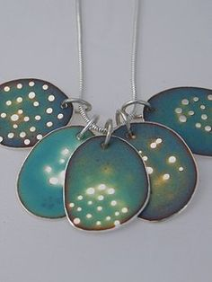 Caroline Finlay Jewellery | Neckpieces - Sea-life series 4