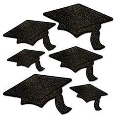 Graduation Multi Icon Headbopper Decoration