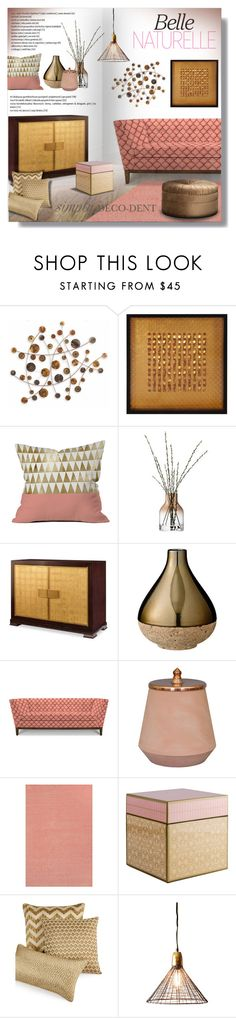 """Untitled #696"" by valentina1 on Polyvore featuring interior, interiors, interior design, home, home decor, interior decorating, Fox, Howard Elliott, LSA International and AERIN"