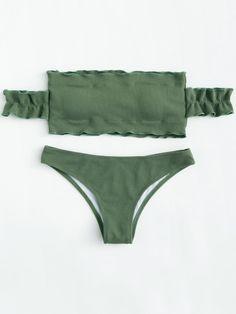 Off The Shoulder Bikini Set