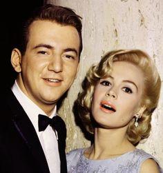 Sandra Dee and husband, Bobby Darin