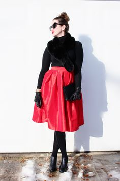 Party Skirt   Northern Style Exposure Valentines outfit look
