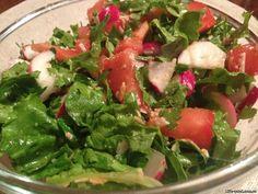 Простой весенний рецепт салата