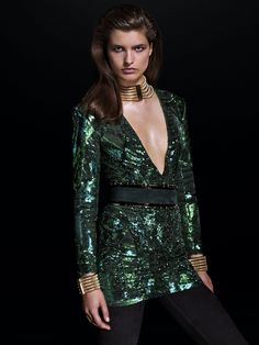 695af7eb See Every Look in H&M's Hotly Anticipated Balmain Collaboration
