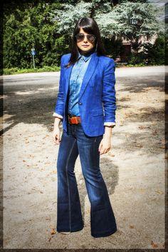70's #fashion #fashionblogger #denim #jeans #70's #streetstyle #style #fashionista #lookbookdotnu #whatiwear #style