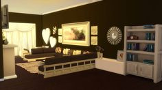 Sims 4 CC's - The Best: Living Room by Sanjana