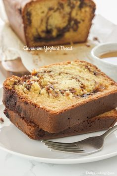 Cinnamon Yoghurt Bread