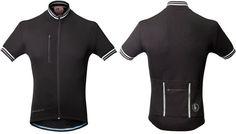 Performance merino cycling jersey