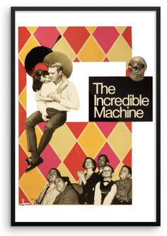 Incredible Machine An original COUPEZ-ICI collage See more : www.alvaroartist.ca Artist Art, Collage, The Incredibles, Movie Posters, Image, Collages, Film Poster, Popcorn Posters, Film Posters