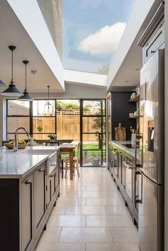 Shaker Kitchens, The Shaker Kitchen Company, Shaker Style Kitchens Open Plan Kitchen Dining Living, Open Plan Kitchen Diner, Open Plan Living, Kitchen Island, Home Decor Kitchen, Kitchen Interior, Shaker Kitchen Company, Kitchen Diner Extension, House Extension Design