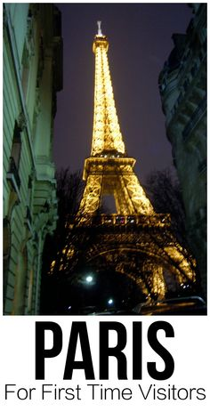 Tips and ideas for your first visit to Paris. Great information and resources for travel planning.