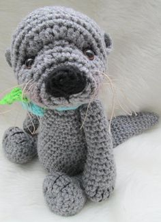 Cute Otter Crochet Pattern | Craftsy