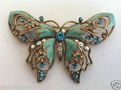 Vintage Avon Butterfly Pin