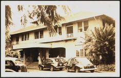 Wailuku Maui Hawaii 1940s Real Photo Maui Grand Hotel Vintage Postcard