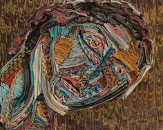 Nick Georgiou - Des tableaux en papier - La boite verte