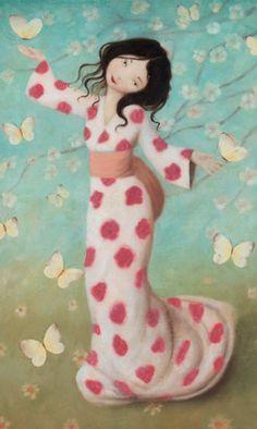 ✯ Oriental Lady Butterfly :: Artist Stephen Mackey ✯