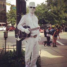 The White Guitarist. Instagram by @beforeiburst