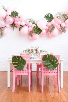 Cute tablescape and table decor for a summer soiree