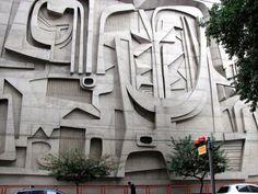 Teatro popular do SESI predio da fiesp,A galeria do sesi organiza mostras de arte Nacionais e Internacionais
