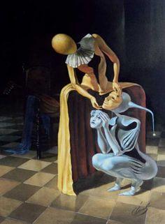 Surealism Art, Art Visionnaire, Psy Art, Surrealism Painting, Weird Art, Psychedelic Art, Surreal Art, Aesthetic Art, Clowns