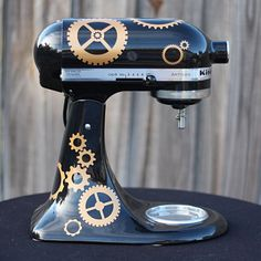 SteamPunk Gears Vinyl Graphic for your Kitchen by FlipFlopGraphics, $19.95